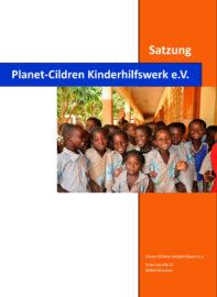 Satzung_Planet Children Kinderhilfswerk e.V.